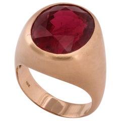 Men's Rubelite Ring