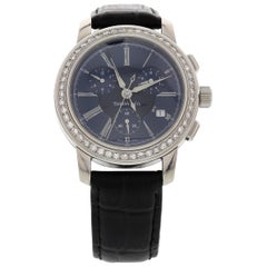Men's Stainless Steel Tiffany & Co. Chronograph with Diamonds