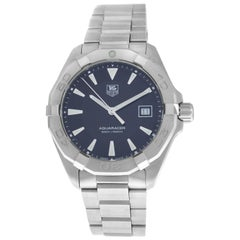 Men's TAG Heuer Aquaracer WAY1110 Steel Date Quartz Watch