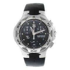 Men's TAG Heuer Kirium CL1180 Ti5 Titanium Chronograph Date Quartz Watch