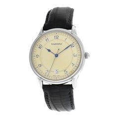 Men's Tourneau 30020A Stainless Steel Automatic Date Watch