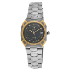 Men's Unisex Omega Seamaster Polaris 3961121 Titane Quartz Watch