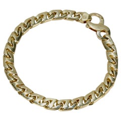Men's Vintage 18 Karat Gold Tiffany & Co. Heavy Chain Link Bracelet