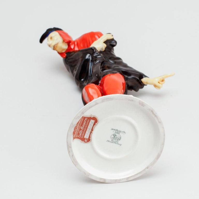 Molded Mephisto Figurine by Karl Tutter, Hutchenreuter, Selb Bavaria For Sale