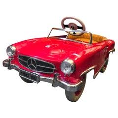 Mercedes Benz 190 SL Vintage Pedal Car for Kids