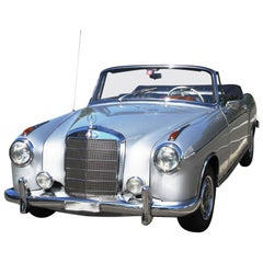 Mercedes Convertible W180 we think Lewis Hamilton would love this classic car