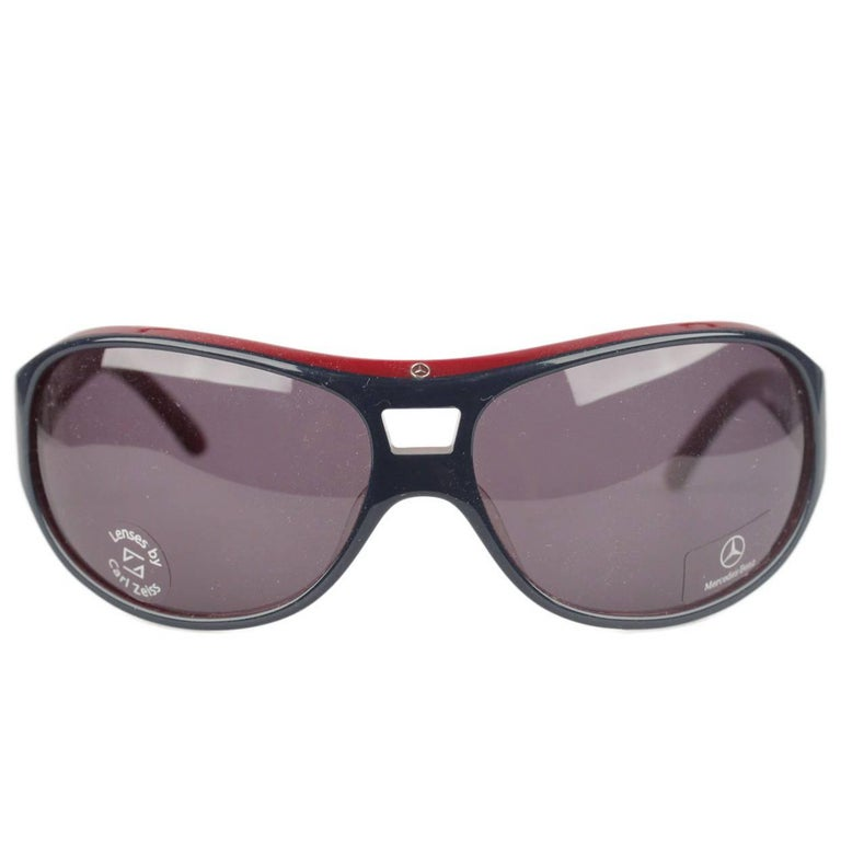 MERCEDES-BENZ Blue Sunglasses MB54103 Lens by CARL ZEISS New Old Stock