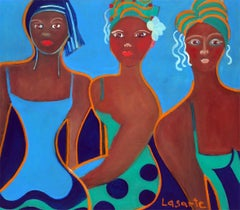 Carnaval by Mercedes Lasarte Oil on Canvas