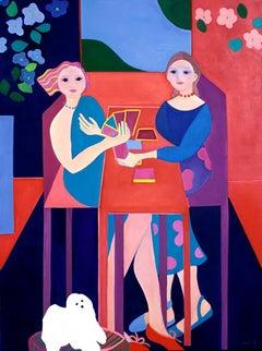 Cartas by Mercedes Lasarte Oil on Canvas