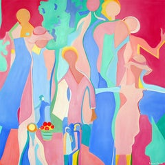 End of Summer by Mercedes Lasarte Oil on Canvas