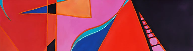 South II by Mercedes Lasarte Oil on Canvas For Sale 1