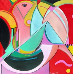 South IV by Mercedes Lasarte Oil on Canvas