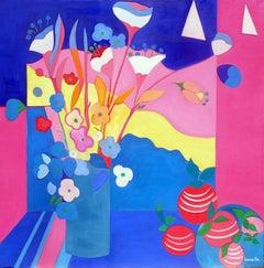 Springtime by Mercedes Lasarte Oil on Canvas