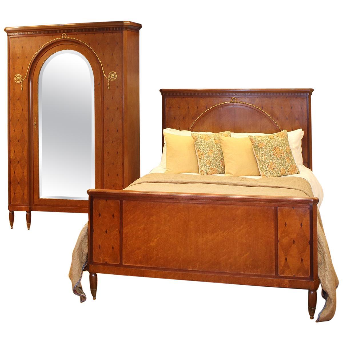 Mercier Frères Two-Piece Bedroom Set, WK142