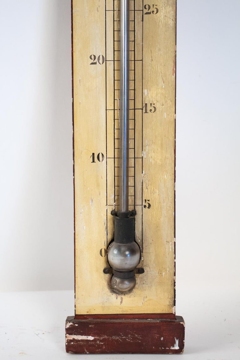 Late 19th Century Mercury Barometer from the 19th Century, Napoleon III Period For Sale
