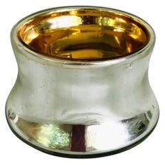 Mercury Glass Salt Cellar