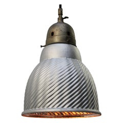 Mercury Glass Vintage Industrial Brass Pendant Lights