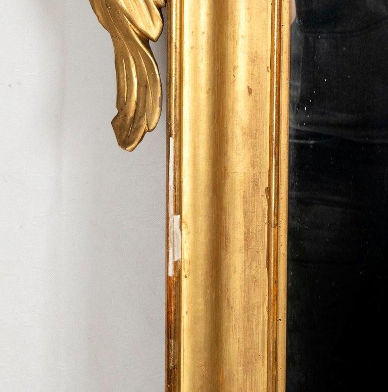 Italian Mercury Mirror, Made in Italy, Mid-19th Century For Sale