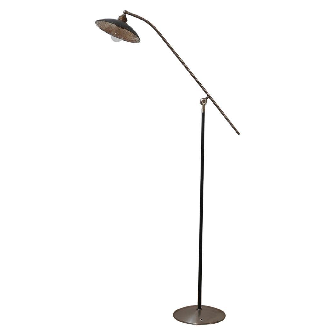 Mercury Shade Metal Adjustable Mid-Century Floor Lamps '2'