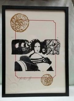 Meresad Berber Graphic painting