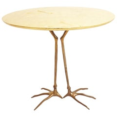 Meret Oppenheim First Edition Art Design Side Table Mod, Traccia