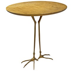 Meret Oppenheim Bronze 'Traccia' Coffee Table
