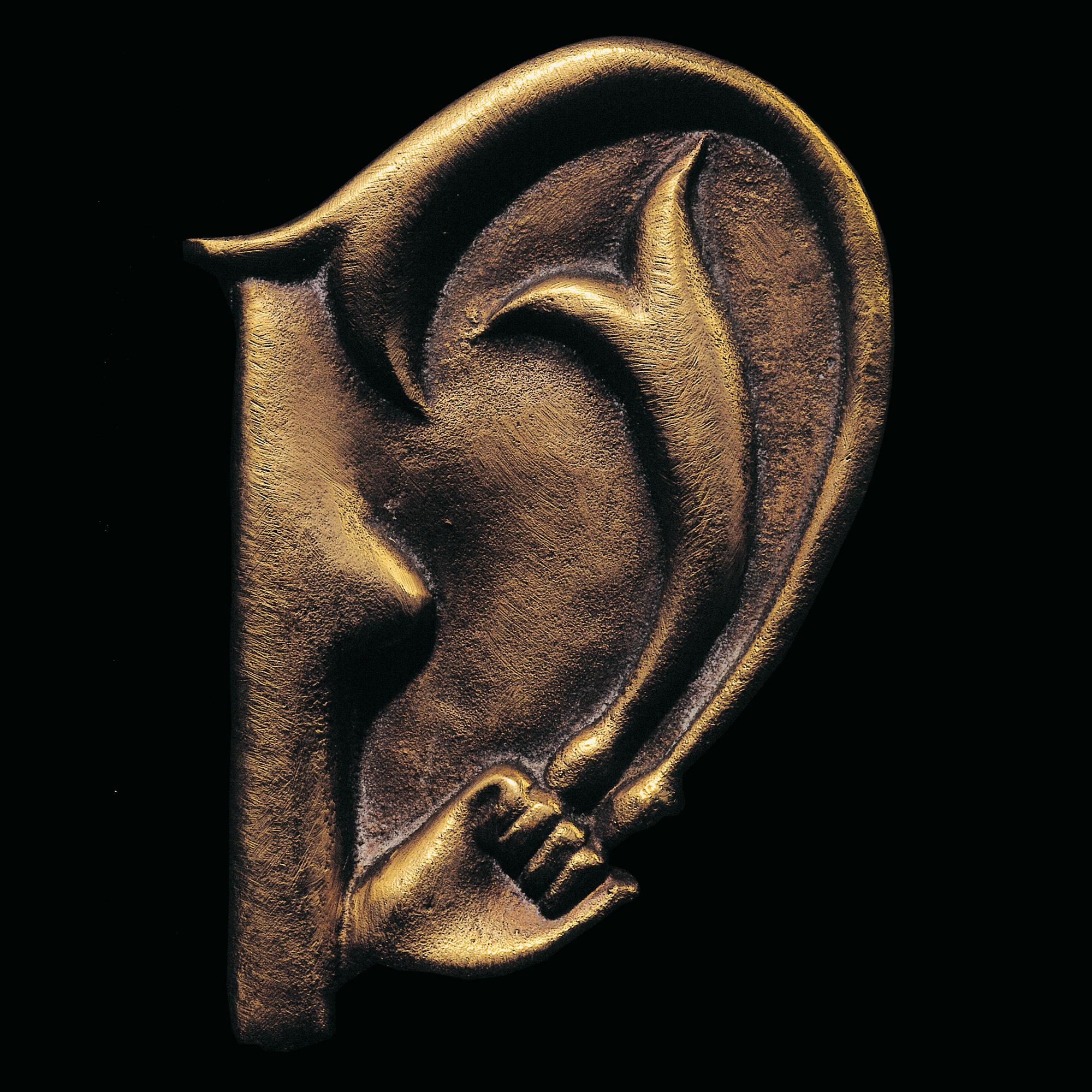 The Ear of Giacometti, 1977, Bronze Sculpture, 20th Century Surrealism