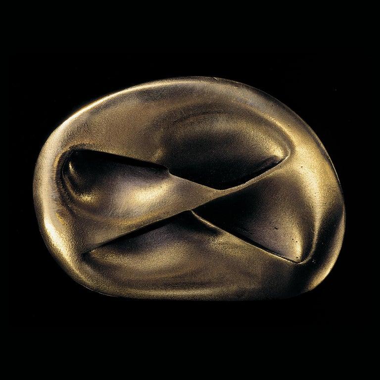 Meret Oppenheim Abstract Sculpture - Unterirdische Schleife, Surrealist Sculpture, 20th Century Modern Art