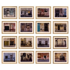 """Merida"", Series of 16 Photographs by Sean Scully, circa 2001, Mexico"