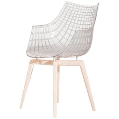 Meridiana Chair in Transparent by Christophe Pillet for Driade