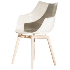 Meridiana Chair in White by Christophe Pillet for Driade