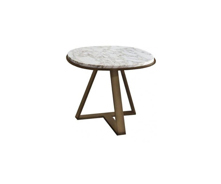 Italian Meridiani Judd, Editions Shine Low Table Designed by Andrea Parisio For Sale