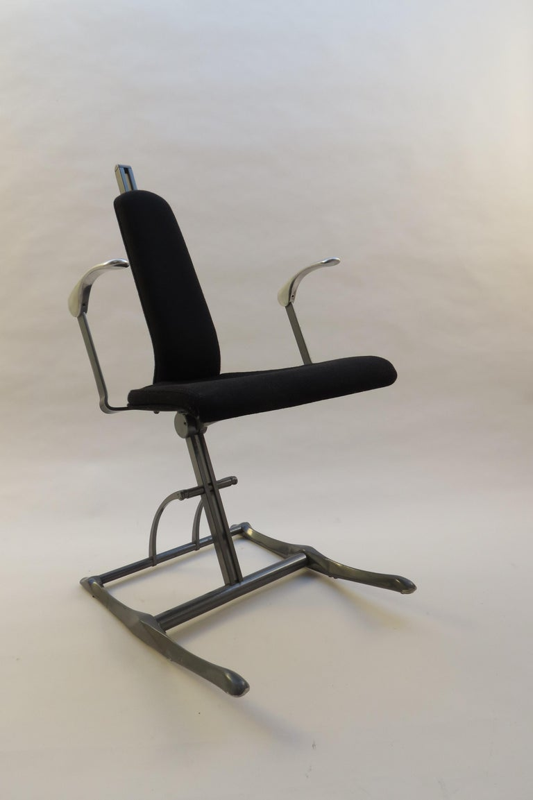 Modern Meridio Office Chair Desk Chair by Michael Dye for Hille, 1990s