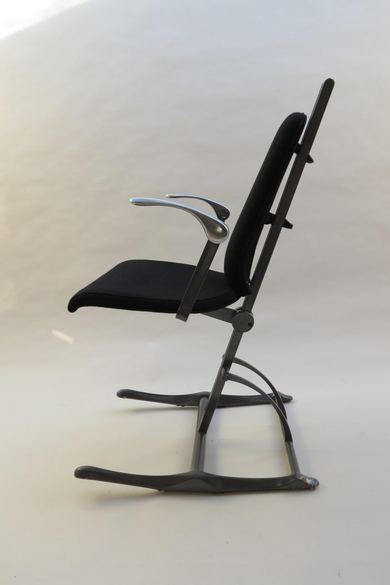 Meridio Office Chair Desk Chair by Michael Dye for Hille, 1990s In Fair Condition In Stow on the Wold, GB