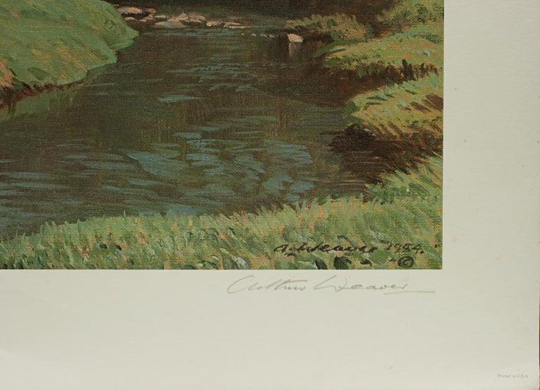 English Golf Art, Merion Golf Club, Golf Print, Arthur Weaver