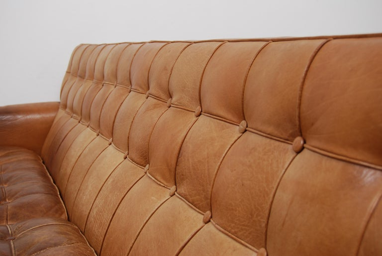 Merkur Sofas by Arne Norell in Buffalo Leather, 1960s For Sale 3