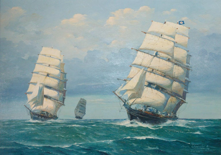 (1903 - ). Oil on canvas. 36