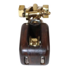 Merriman Brothers Yacht Pulley with Brass