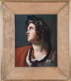 Merry-Joseph Blondel, Study for Le trois glorieuses, oil on canvas