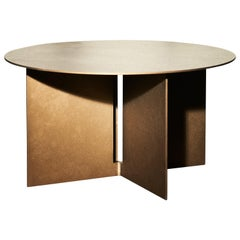 Mers Coffee Table in Powdercoat Aluminum