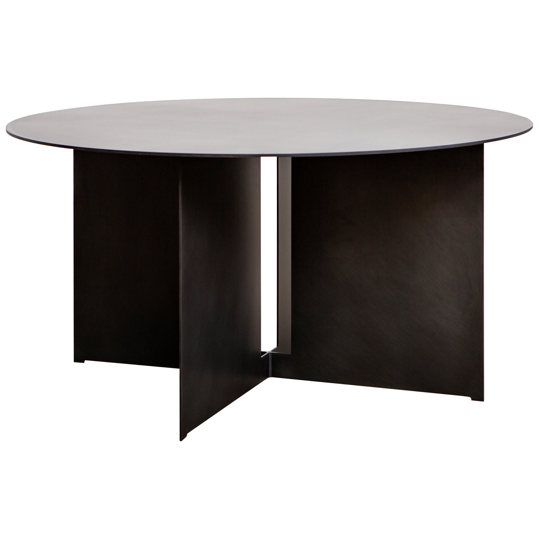 Mers Coffee Table in Steel Blackened