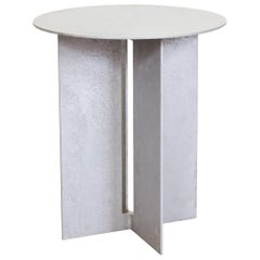 Mers Side Table in Salt Pack Aluminum