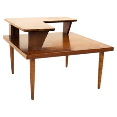 Merton Gershun for American of Martinsville Mid Century Two Tier Corner table