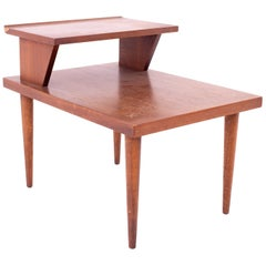 Merton Gershun for American of Martinsville Midcentury 2-Tier Side End Table