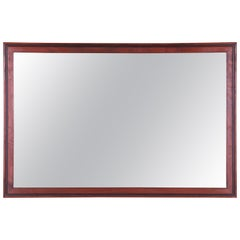 Merton Gershun for Dillingham Mid-Century Modern Walnut Framed Wall Mirror