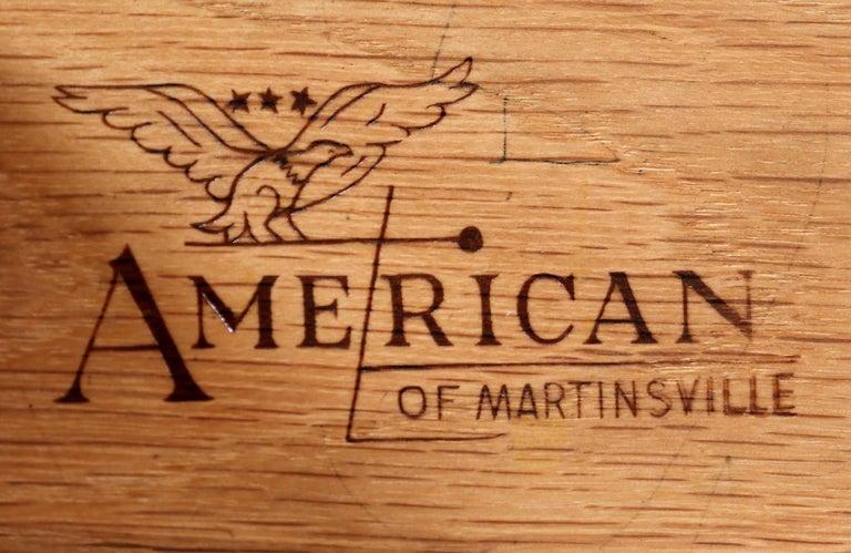 Merton L. Gershun Walnut Writing Desk for American of Martinsville For Sale 2