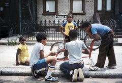 Fix Bike, Citadel of Hope Palmetto Street, Bushwick, Brooklyn, NY 1982