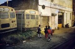 Tasty Pretzel Bakeries Starr Street, Bushwick, Brooklyn, NY October 1983