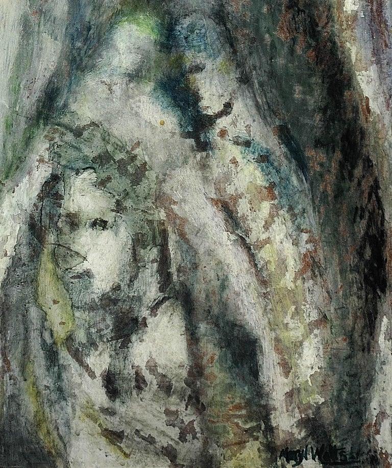 Enigma. Original Oil Painting. Eccentric & Bohemian. Modern British. Welsh. For Sale 7