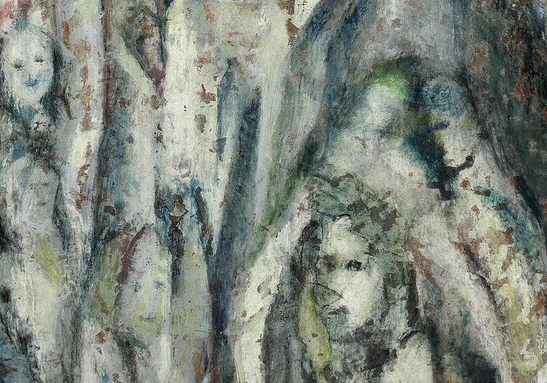 Enigma. Original Oil Painting. Eccentric & Bohemian. Modern British. Welsh. For Sale 9